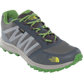 The North Face Litewave Fastpack GTX Shoes Men Dark Shadow Grey/Flashlight Green